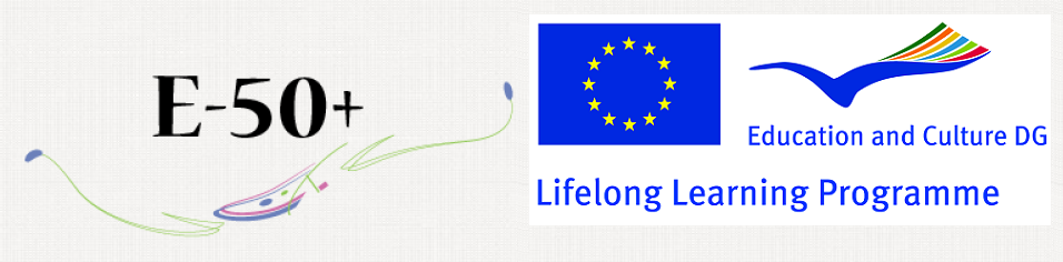 E50 plus header - Lifelong Learning Programme, European Commision